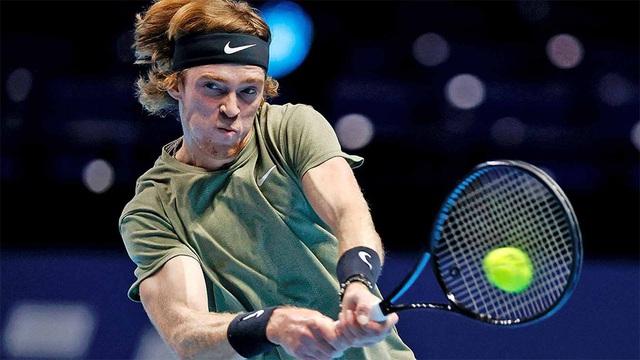 ATP Finals: Giành chiến thắng trước Rublev, Tsitsipas tiếp tục nuôi hy vọng - Ảnh 2.
