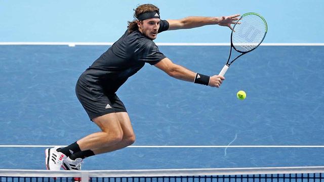 ATP Finals: Giành chiến thắng trước Rublev, Tsitsipas tiếp tục nuôi hy vọng - Ảnh 3.