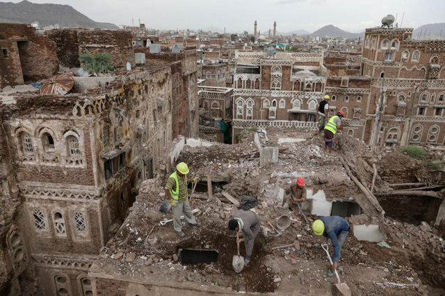 """Thành phố đất sét cổ đại """"Manhattan của sa mạc"""" bên bờ vực sụp đổ - Ảnh 1."""