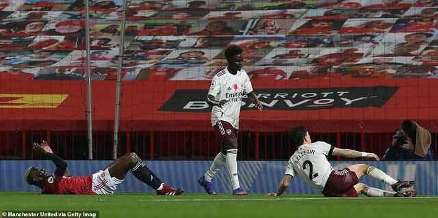 Manchester United 0-1 Arsenal: Pogba phạm sai lầm, Quỷ đỏ tiếp tục chìm sâu tại Ngoại hạng Anh - Ảnh 3.