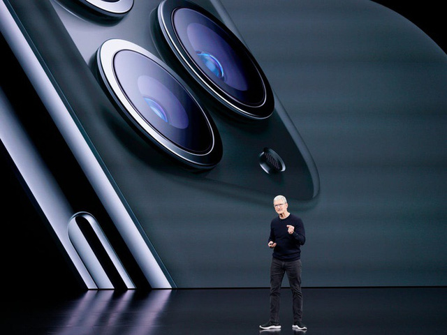 """Vốn hóa Apple """"bốc hơi"""" 450 tỷ USD từ tháng 9 - Ảnh 1."""