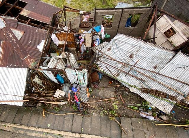 Hình ảnh Phillipines đổ nát, tan hoang do siêu bão mạnh nhất thế giới Goni - Ảnh 4.
