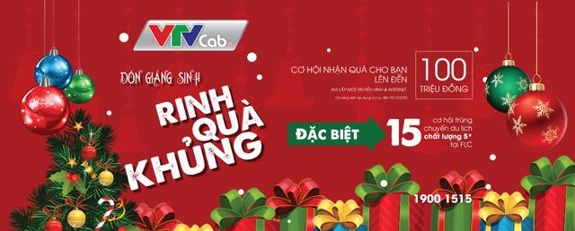 Đón Giáng sinh – Rinh quà khủng từ VTVcab - ảnh 1
