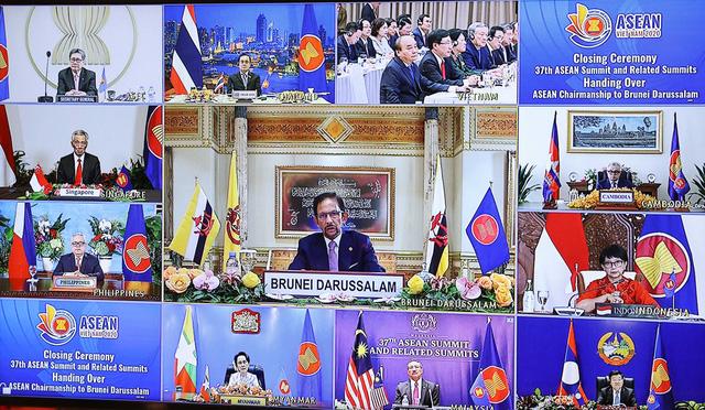 Tuyên bố Chủ tịch Cấp cao ASEAN 37: Gắn kết và chủ động thích ứng - Ảnh 1.