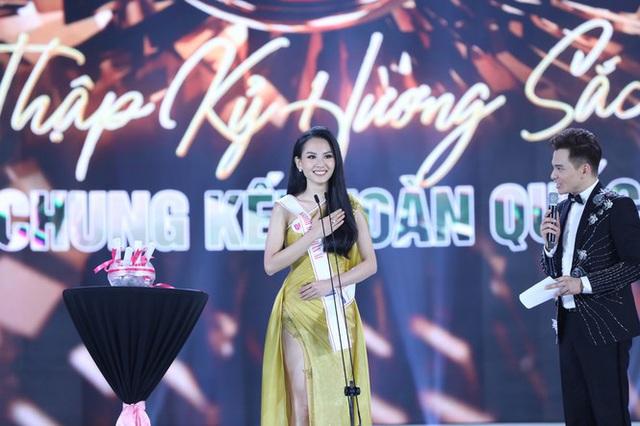 Top 5 Hoa hậu Việt Nam 2020 thi ứng xử ra sao? - Ảnh 1.