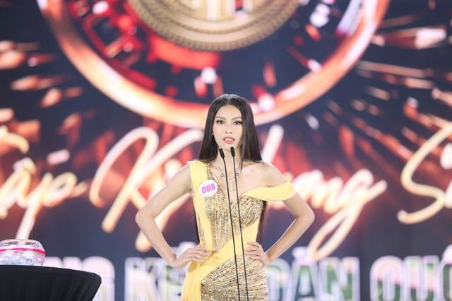Top 5 Hoa hậu Việt Nam 2020 thi ứng xử ra sao? - Ảnh 5.