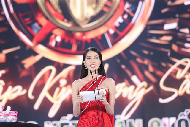 Top 5 Hoa hậu Việt Nam 2020 thi ứng xử ra sao? - Ảnh 3.
