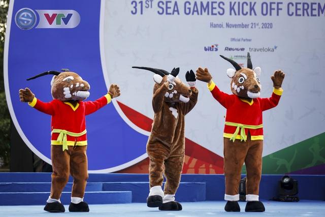 Lễ Khởi động cùng SEA Games 31 tại Hà Nội diễn ra trang trọng - Ảnh 4.