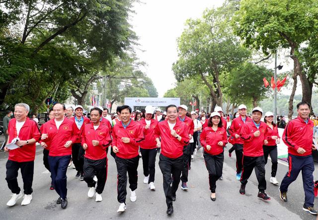 Lễ Khởi động cùng SEA Games 31 tại Hà Nội diễn ra trang trọng - Ảnh 5.