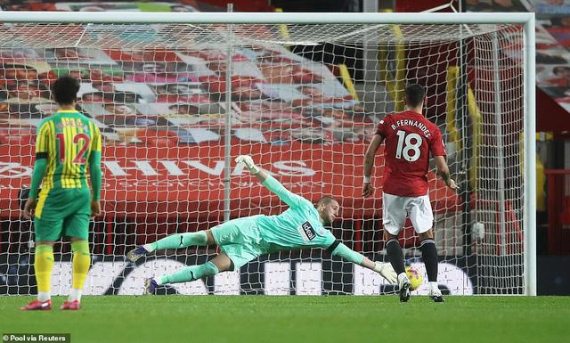 Manchester Utd 1-0 West Brom: Bruno ghi bàn, Man Utd có chiến thắng sân nhà đầu tiên - Ảnh 2.