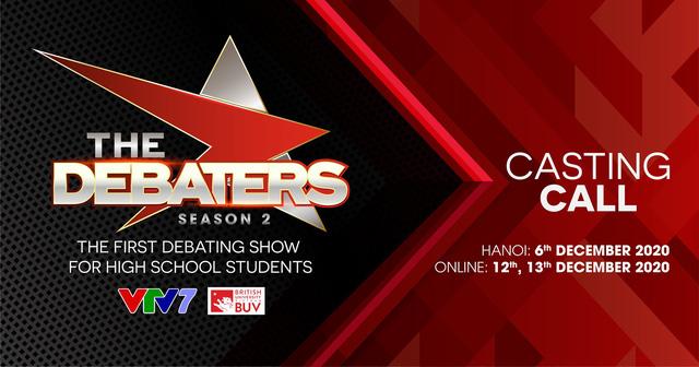 Bạn có muốn trở thành thí sinh The Debaters mùa 2? - Ảnh 1.