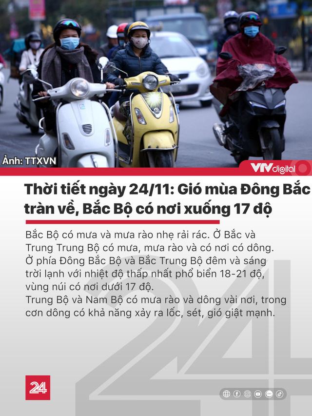 Tin nóng đầu ngày 24/11: Thanh tra giao thông lái xe ngược chiều tông chết người - Ảnh 3.