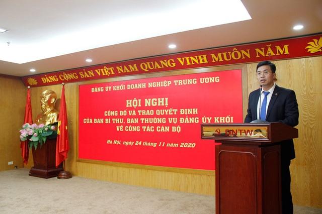Đảng ủy Khối Doanh nghiệp Trung ương trao quyết định về công tác cán bộ - Ảnh 3.