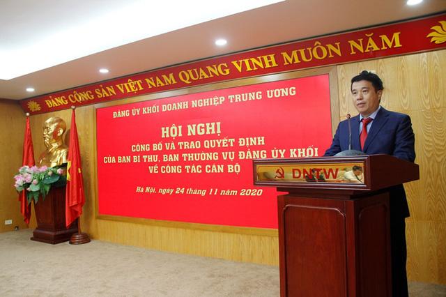 Đảng ủy Khối Doanh nghiệp Trung ương trao quyết định về công tác cán bộ - Ảnh 2.
