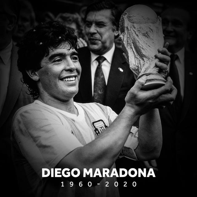 Huyền thoại bóng đá Diego Maradona qua đời ở tuổi 60 - Ảnh 1.