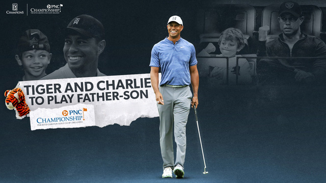 Tiger Woods và con trai tranh tài tại giải golf PNC Championship - Ảnh 1.