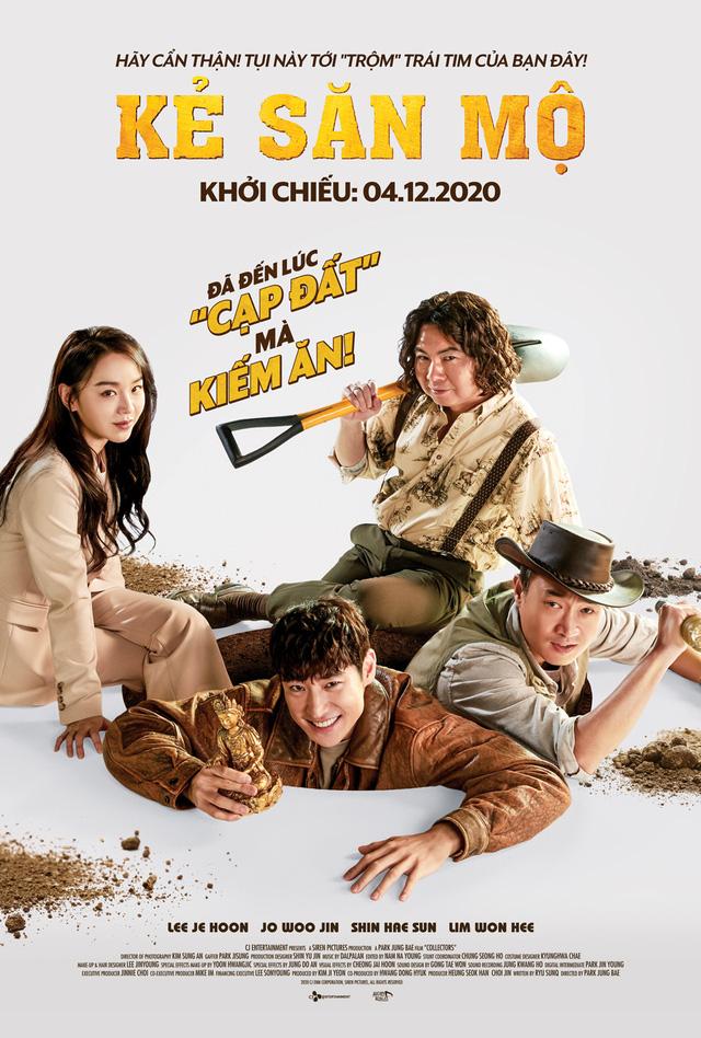 Kẻ săn mộ - Ông hoàng phòng vé tháng 11 Hàn Quốc tung trailer kịch tính - Ảnh 1.