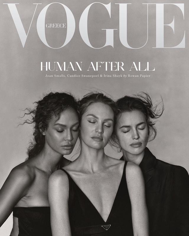 3 chân dài siêu đẹp đổ bộ Vogue cuối năm - Ảnh 4.