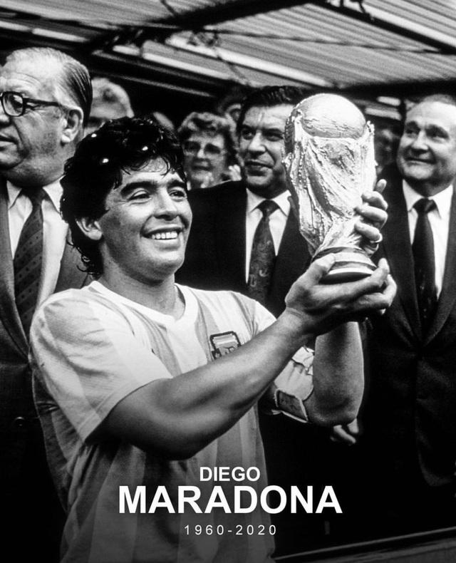 Lionel Messi tiếc thương: Diego Maradona là bất tử - Ảnh 1.