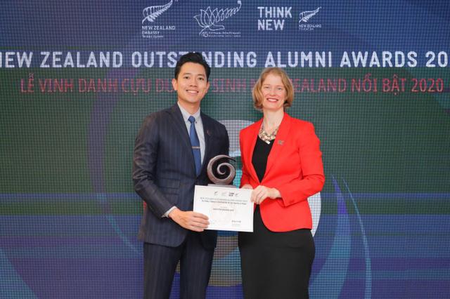 6 cá nhân ưu tú nhận giải thưởng Cựu du học sinh New Zealand nổi bật 2020 - Ảnh 2.