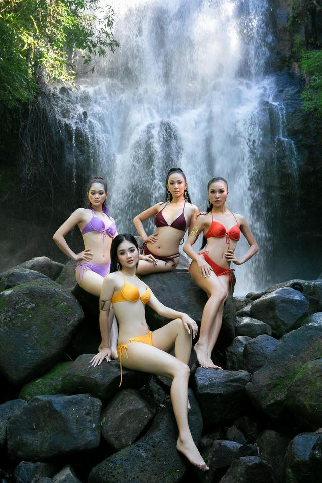 Thí sinh Hoa khôi Du lịch 2020 khoe ảnh bikini trước Chung kết - Ảnh 4.