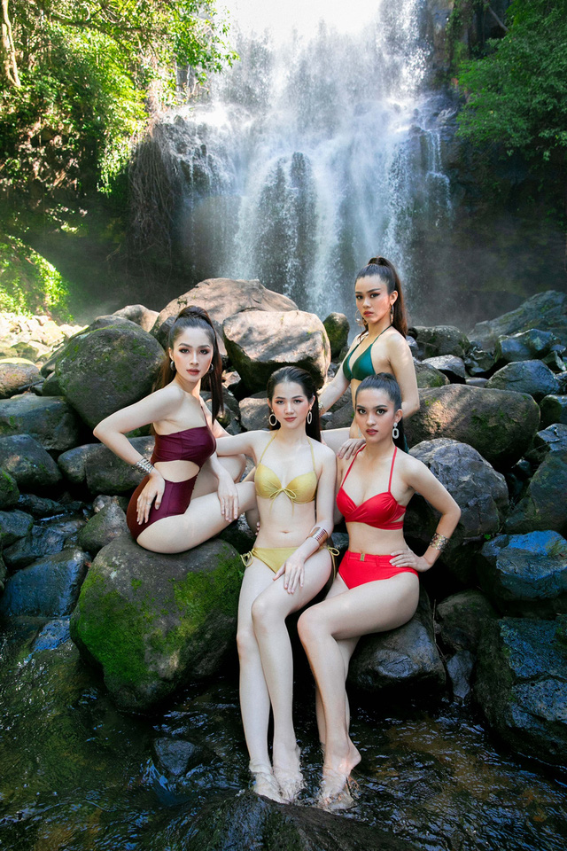 Thí sinh Hoa khôi Du lịch 2020 khoe ảnh bikini trước Chung kết - Ảnh 2.