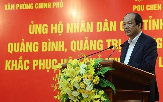 Thêm 6 tỷ đồng ủng hộ 3 tỉnh miền Trung bị ảnh hưởng bởi thiên tai - Ảnh 1.