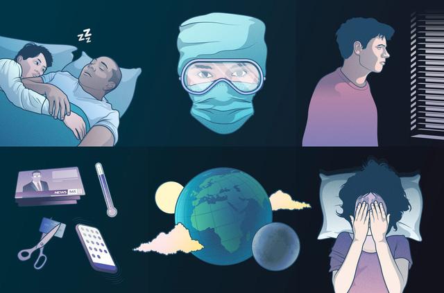Dự án kể về đại dịch COVID-19 qua những giấc mơ - Ảnh 3.