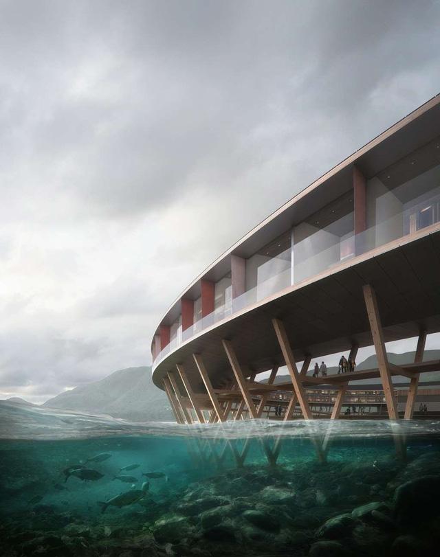 Khách sạn tự sản xuất năng lượng đầu tiên trên thế giới - ảnh 1
