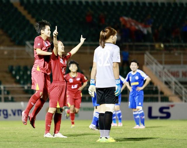 Vòng 10 giải bóng đá Nữ VĐQG – Cúp Thái Sơn Bắc 2020 (28/11): Sơn La tạo bất ngờ - Ảnh 1.