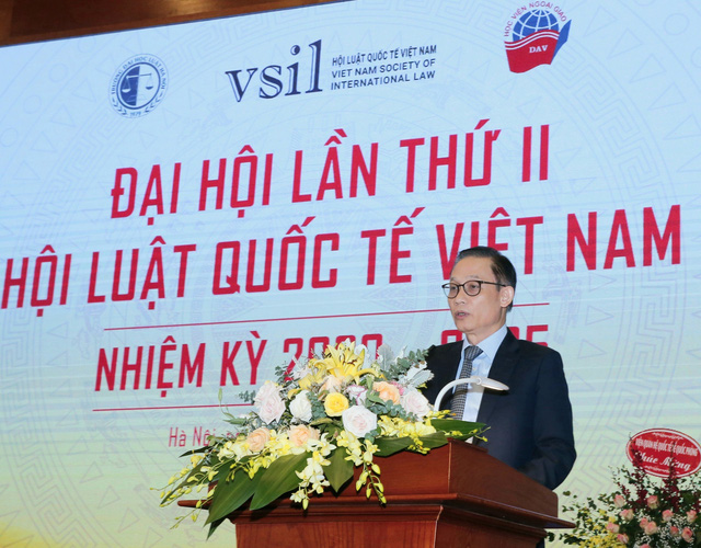 Sự ra đời của Hội Luật quốc tế Việt Nam đáp ứng nhu cầu và nguyện vọng của đông đảo nhân dân - Ảnh 2.