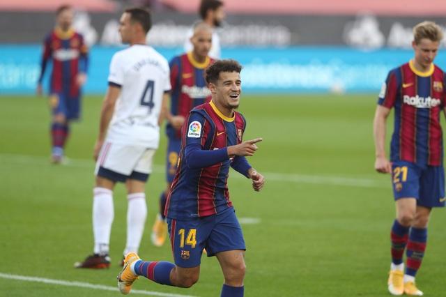Barcelona 4-0 Osasuna: Bộ đôi Griezmann - Messi tỏa sáng! - Ảnh 2.