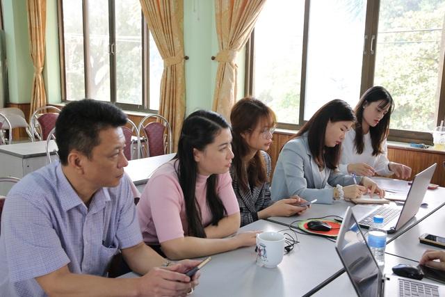 Đoàn công tác Đài THVN tổ chức tập huấn chuẩn bị cho LHTHTQ lần thứ 40 tại Ninh Bình - Ảnh 6.