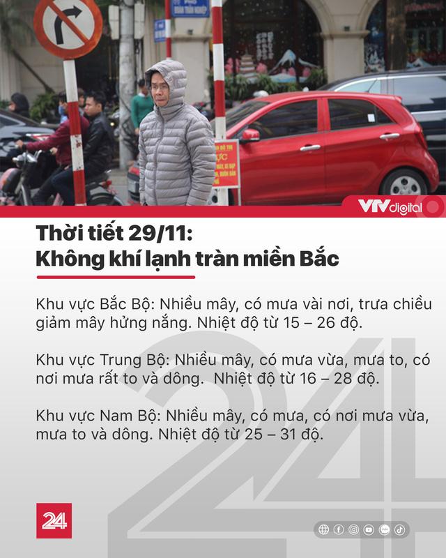 Tin nóng đầu ngày 29/11: Phong tỏa các ngả đường để xử lý quả bom ở Hà Nội - Ảnh 8.