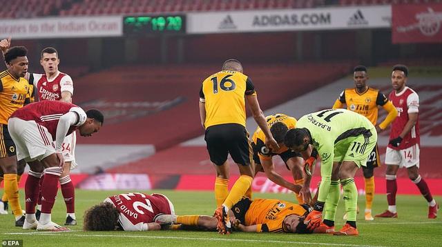 Arsenal 1-2 Wolverhampton: Arsenal tiếp tục trắng tay trên sân nhà (Vòng 10 Premier League 2020/21) - Ảnh 1.