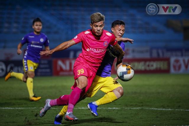 ẢNH: Quang Hải tỏa sáng, CLB Hà Nội loại CLB Sài Gòn khỏi cuộc đua vô địch - Ảnh 9.