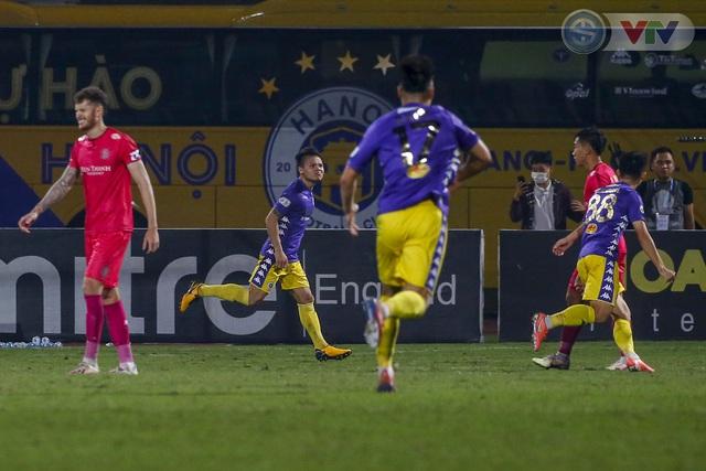 ẢNH: Quang Hải tỏa sáng, CLB Hà Nội loại CLB Sài Gòn khỏi cuộc đua vô địch - Ảnh 13.
