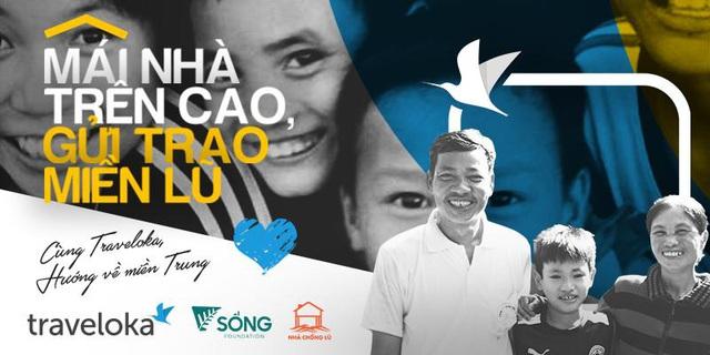 Traveloka Việt Nam chung tay cùng Quỹ Sống xây Nhà Chống Lũ - Ảnh 1.