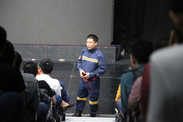 Khai mạc lớp tập huấn nghiệp vụ phòng cháy chữa cháy năm 2020 tại Đài THVN - Ảnh 4.