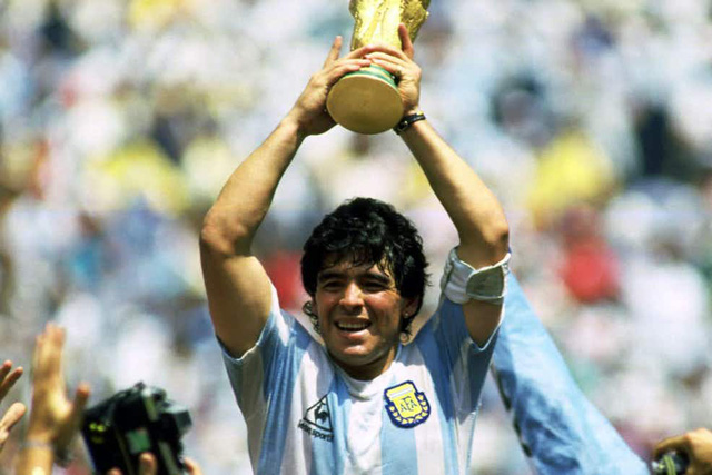 Hình ảnh Maradona trong văn hóa bóng đá Argentina - Ảnh 1.