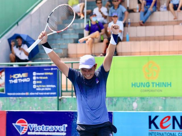 Lý Hoàng Nam giành cú ăn 3 vô địch quần vợt quốc gia - Ảnh 1.
