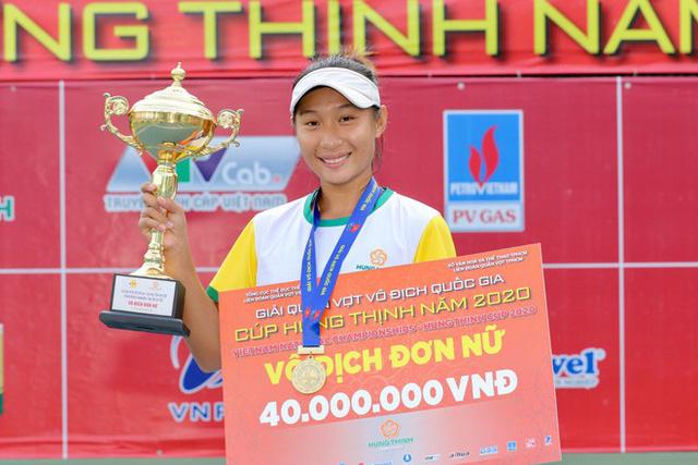 Lý Hoàng Nam giành cú ăn 3 vô địch quần vợt quốc gia - Ảnh 2.
