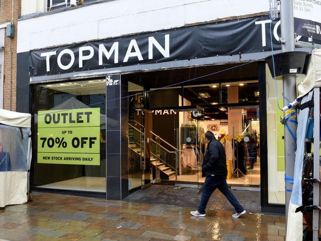 Công ty mẹ Topshop nộp đơn xin phá sản - Ảnh 1.
