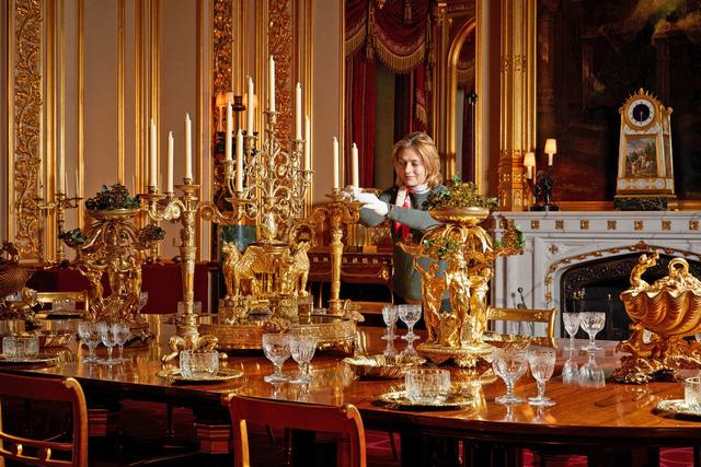 Chiêm ngưỡng Giáng sinh hoa lệ tại lâu đài Windsor, hoàng gia Anh - ảnh 2