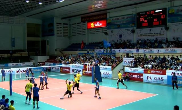 Giải bóng chuyền VĐQG 2020: Sanest Khánh Hòa giành ngôi nhất bảng D - Ảnh 1.