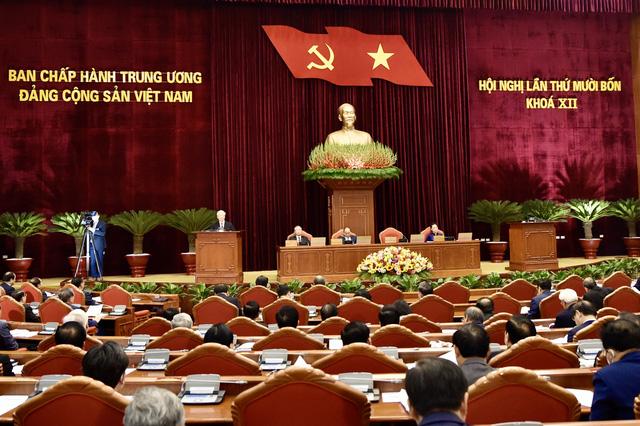 Khai mạc trọng thể Hội nghị lần thứ 14 Ban Chấp hành Trung ương Đảng khóa XII - Ảnh 2.