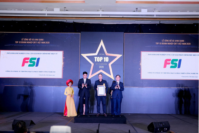 Công bố top 10 doanh nghiệp CNTT 2020 - Ảnh 1.