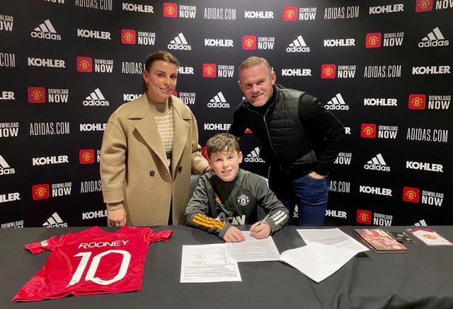 CHÍNH THỨC: Man Utd sở hữu truyền nhân của Rooney - Ảnh 1.