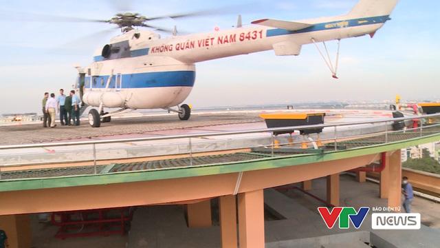 Việt Nam chính thức có sân bay trực thăng cấp cứu đầu tiên - Ảnh 1.