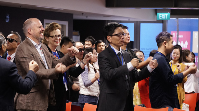 Đào tạo kinh doanh trực tuyến cho 22 học viên khiếm thị - Ảnh 2.